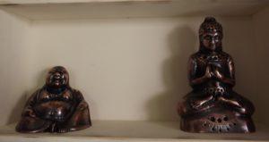 Buddha, Shiiva, öntvény, bronz, réz, egyedi készítésű